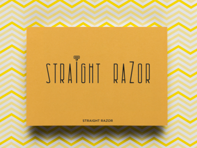 Straight Razor Logo
