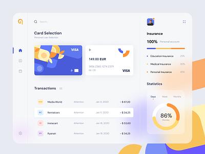 Banking app minimal ux ui dashboad finance app bank product design web site web user interface web design site interface marketing page finance design system credit card banking application