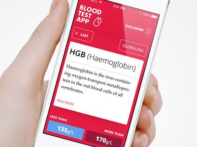 Blood Test App