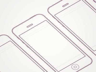 iPhone 5 Sketch Sheet