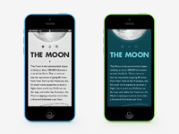 Moon app bigger