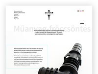 Website Redesign for Machining Company