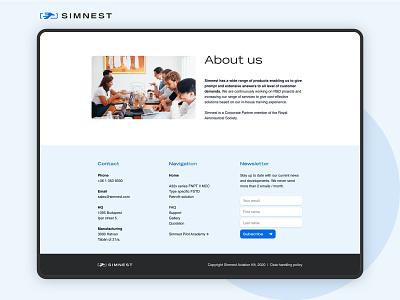 Simnest web footer sketch flat ui exploration footer web design website web