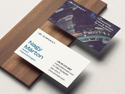 Simnest Card Alternate Designs sketchapp typography branding card business card