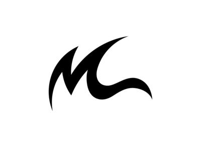Surfer Logo, M + Wave concept Logo