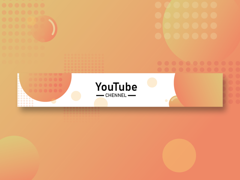 YouTube - CHENNAL - website type art minimal icon illustrator vector web design illustration youtube