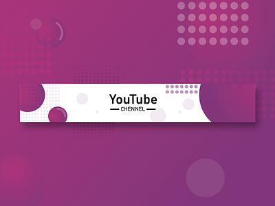 YouTube - CHENNAL website type art minimal illustrator branding logo web illustration youtube design