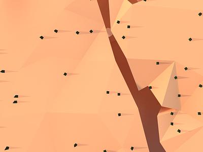 LowPoly каньон lowpoly lowpolyart animation web icon logo flat vector minimal design
