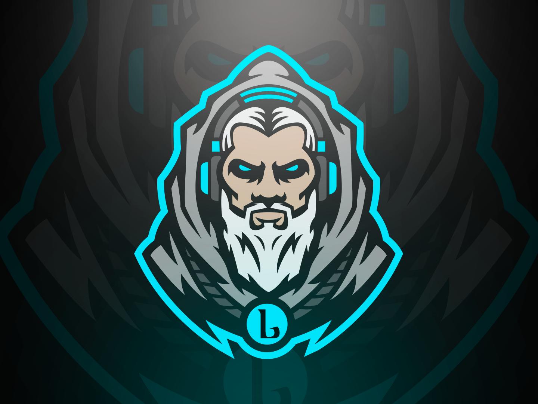 Lord Logo esports logo design mascot illustration vector logo