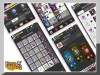 ReWorking_UI - Hyper heroes game Redesign