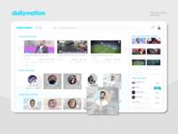 ReworkingUI_Dailymotion_UiConcept