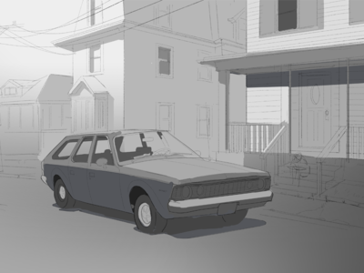 My Dad's Old Cars - 1972 AMC Hornet - In progress