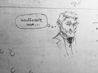 Insufferable lout