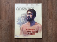 Answers Magazine Cover and Feature Article Illustrations
