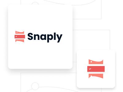 Logo Original: Snaply figmadesign vector figma todoapp logo brand design app