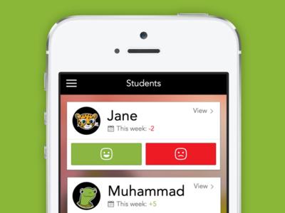Behavior iOS Application