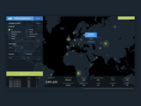 Threat Intelligence Map