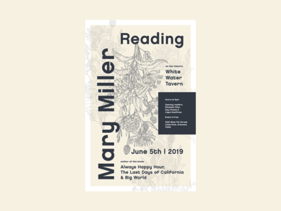 Mary Miller Event Poster