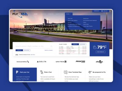 XNA Airport Website