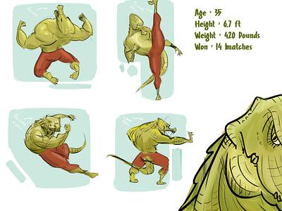 CROCKY graphic design illustration character design digital art concept art