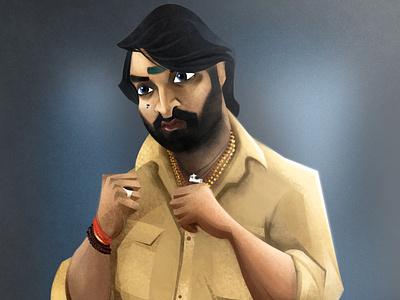 BAVANI - MASTER character design digital art concept art