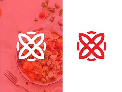 Keto Diet logomark keto diet red logo logo design illustration ux ui web branding design smart logo logo health keto