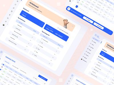 TrustPos Food order dashboard  -Exploration- dashboard ui dashboard app dashboad flat ecommerce dailyui interface clean minimal design app ux ui