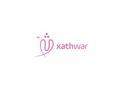 xathwar logo gift shop design vector branding logo design logo xathwar logo