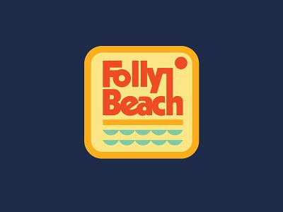 Awww Snap(back)! type sun beach ocean patch badge retro vintage south carolina charleston folly beach hat