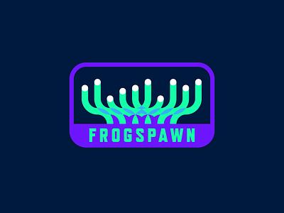 Frogspawn Coral aquarium ocean frogspawn neon badge patch underwater reef coral