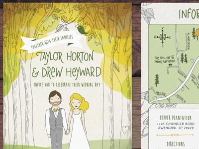 Taylor drew invitations