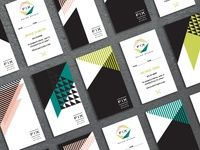 Fix Salon Business Cards