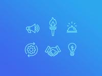 Corporate Training Icons