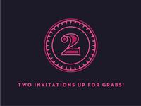 2 Invitations