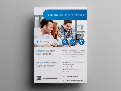 Business flyer / Ad template #3