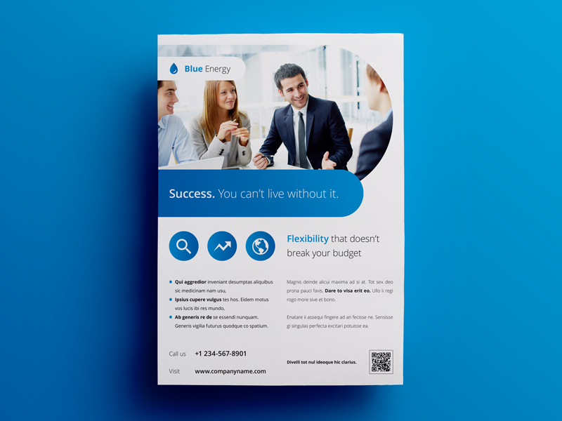 Business Flyer Ad Template 4 By Env1ro On Dribbble