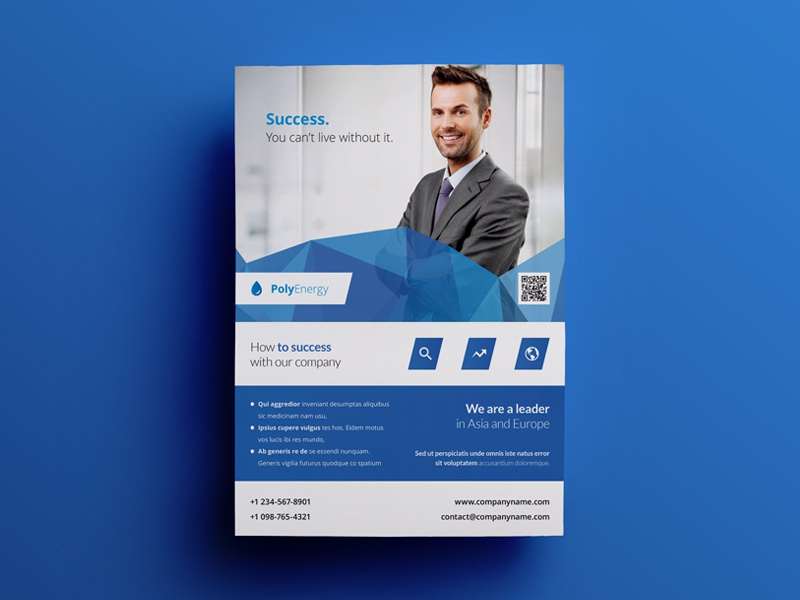 Business Flyer Ad Template 5 By Env1ro On Dribbble