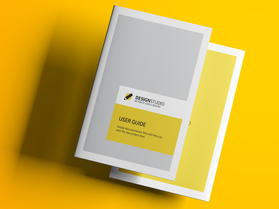 Help File Documentation User Guide Indesign Template