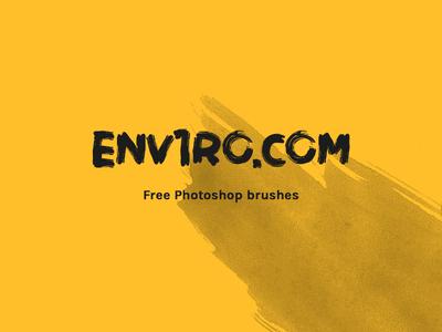Free Adobe Photoshop Brushes - env1ro.com