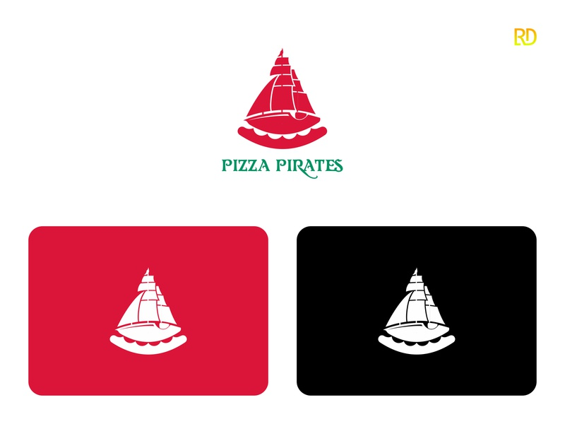 Pizza Logo italian food italian pizzeria pizza logo pizza restaurant food brandingdesigner brandingdesign branding logodesigner logodesign logo
