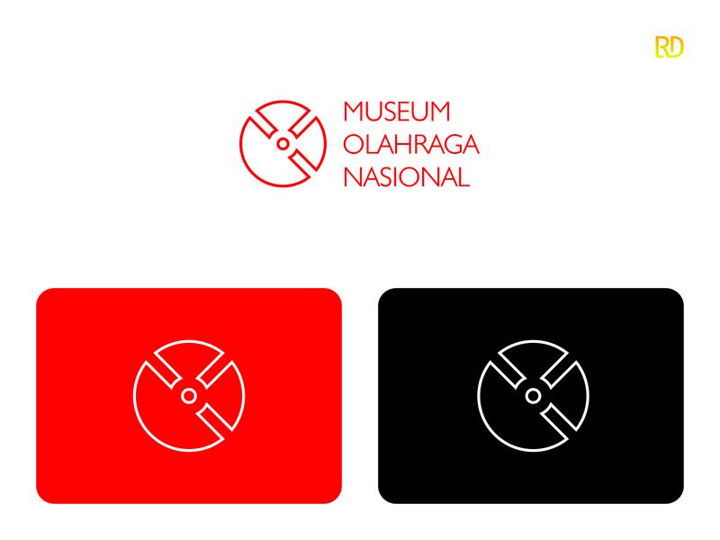 Museum Logo red heritage sports branding sports logo sports timelapse history museum logodesigner logodesign logo brandingdesigner brandingdesign branding