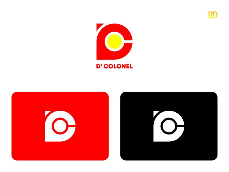 Letter D Logo logotype colorful letters minimalist logo minimalist monogram logo monogram typography font design font modern logo modern alphabet letterd letterdesign lettermark logodesign logo