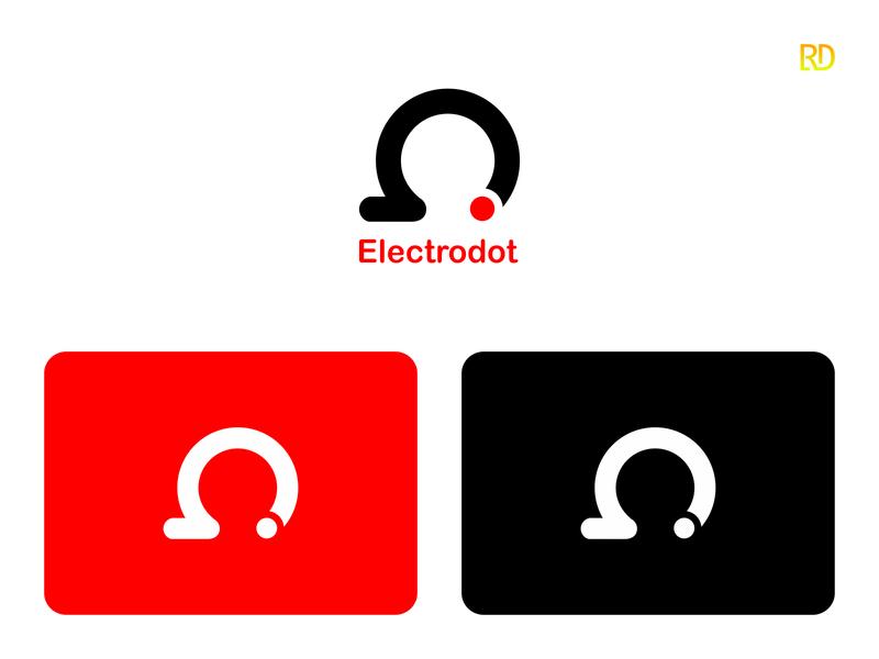 Corporate Logo ohm minimalist modern logo electron electro logotype company corporate design logodesign logo