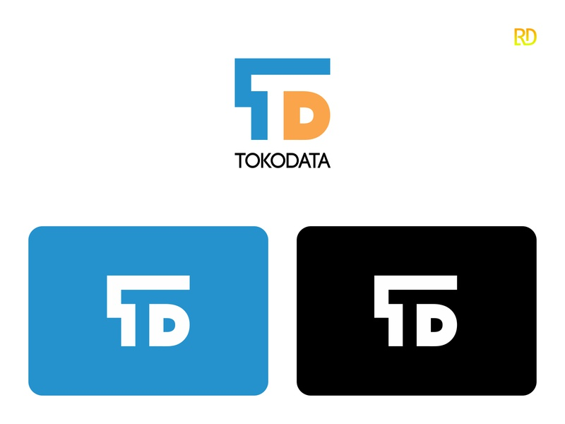 Data Logo logotype corporate connection company innovation modern internet computer tech web digital symbol business design icon network technology data logodesign logo