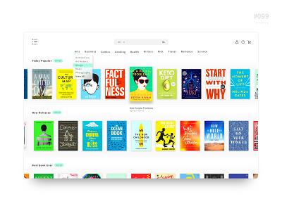 UI 099 website book app categories category 99 099 icon daily challenge button daily 100 app daily 100 challenge design uidesign ui dailyui