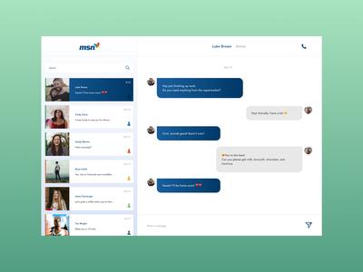 Day 13 - Direct messaging - MSN Messenger
