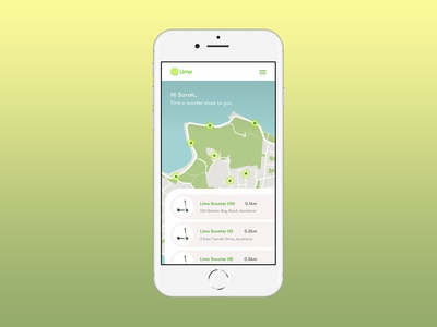 Day 20 - Location tracker - Lime