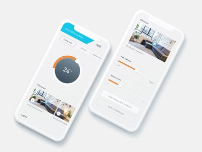 Day 21 - Home monitoring dashboard - Nest