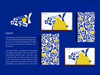 Eat chicken a visual image design