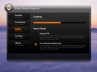 Video player proposal